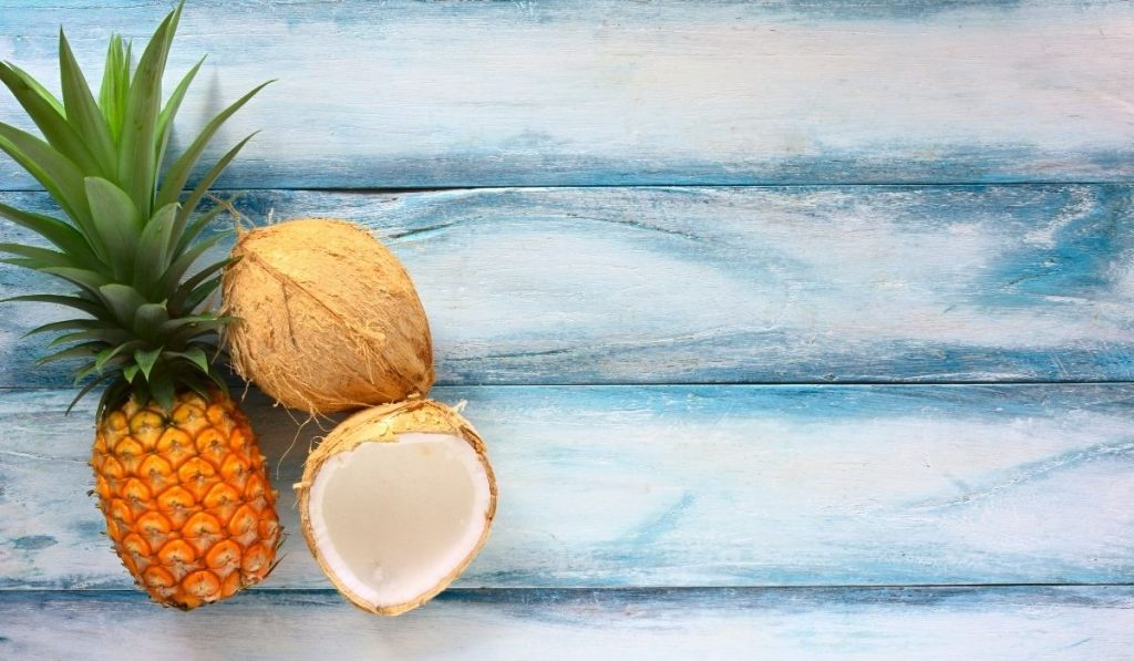 Coconut and Pineaaple